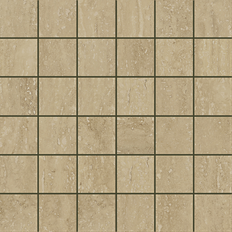 Travertino Noce Mosaico Pat.