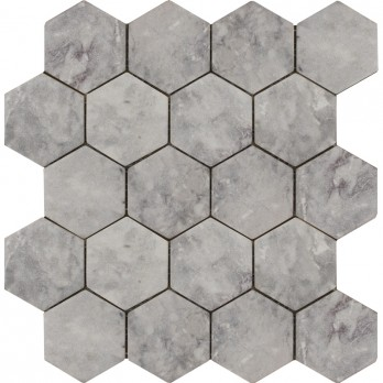 Hexagon Lg Tumbled мозаика (7,4*7,4)