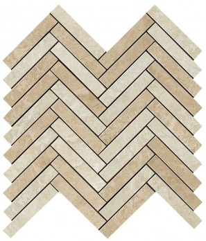 Force Light Herringbone Mosaic мозаика